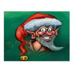 Christmas Elf Postcards