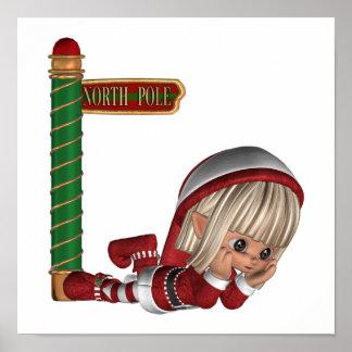 Christmas Elf Poster