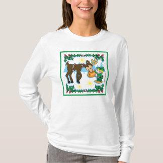 Christmas Elf & Reindeer T-Shirt