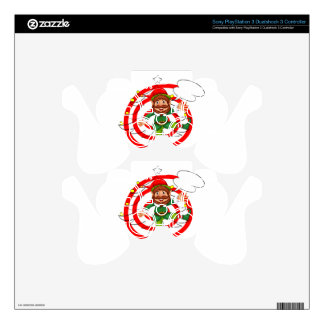 Christmas Elf Skins For PS3 Controllers