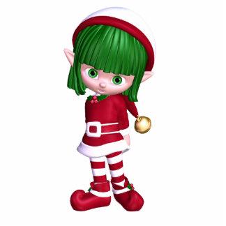 Christmas Elf Statuette