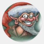 Christmas Elf Stickers