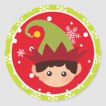 "Christmas - Elf Stickers (Round)<br><div class=""desc"">Christmas Elf stickers (Round) red and green. You can find all the graphics at www.myclipartstore.com</div>"