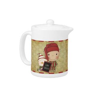 Christmas Elf Teapot