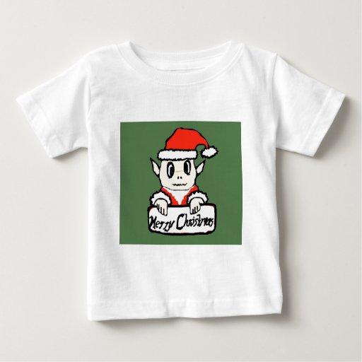 Christmas elf tshirt