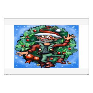 Christmas Elf Wall Decal