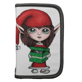 Christmas Elf with Live Present Folio Planner