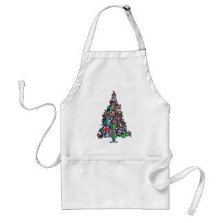 christmas_elftree adult apron