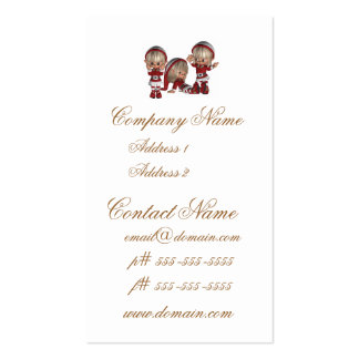 Christmas Elves Business Cards