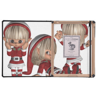 Christmas Elves Cover For iPad