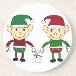 Christmas Elves Coasters