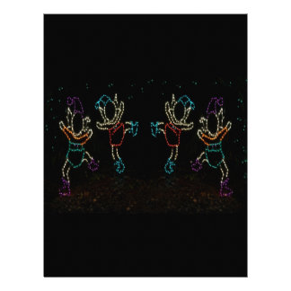 Christmas Elves Dancing 2 2016 Letterhead