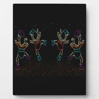 Christmas Elves Dancing 2 2016 Plaque