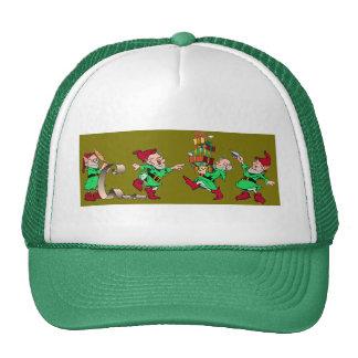 Christmas Elves Mesh Hat