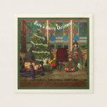 Christmas Elves Paper Napkin