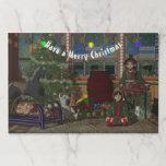 Christmas Elves Paper Placemat