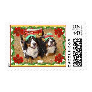 Christmas Elves Postage