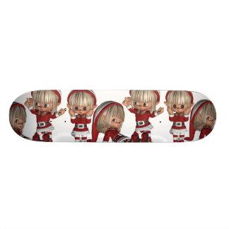 Christmas Elves Skateboard