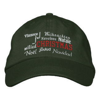 Christmas - Embroidered Hat