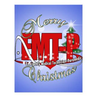 CHRISTMAS EMT-P Emergency Medical Tech Paramedic Letterhead Template