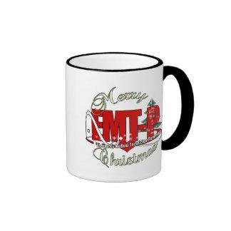 CHRISTMAS EMT-P Emergency Medical Tech Paramedic Mug