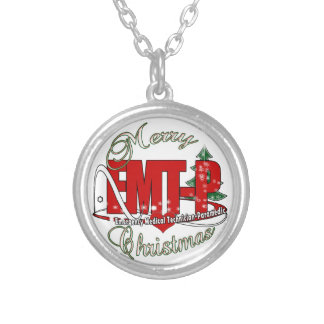 CHRISTMAS EMT-P Emergency Medical Tech Paramedic Personalized Necklace