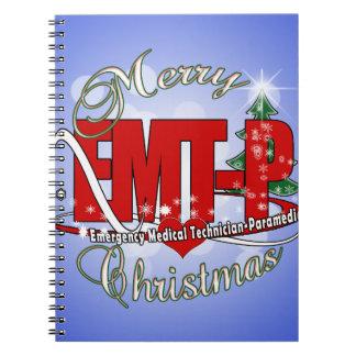 CHRISTMAS EMT-P Emergency Medical Tech Paramedic Notebooks