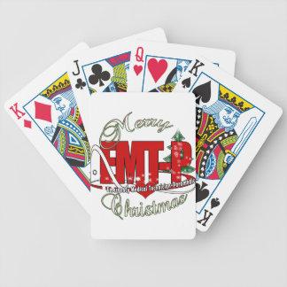 CHRISTMAS EMT-P Emergency Medical Tech Paramedic Poker Cards