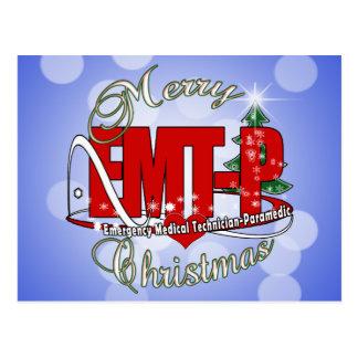 CHRISTMAS EMT-P Emergency Medical Tech Paramedic Postcard