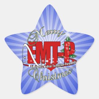 CHRISTMAS EMT-P Emergency Medical Tech Paramedic Stickers