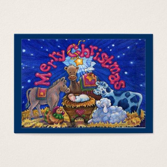 Christmas Enclosure Card / Tag