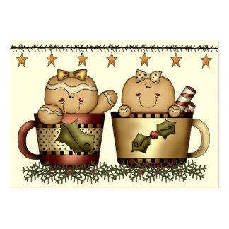 Christmas Enclosure Card / Tag - SRF Business Cards