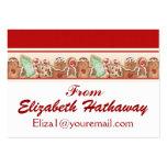 Christmas Enclosure Card / Tag - SRF Business Card Template