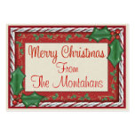 Christmas Enclosure Tag - SRF Large Business Card
