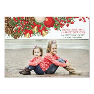 Christmas Endearment Photo Holiday Card