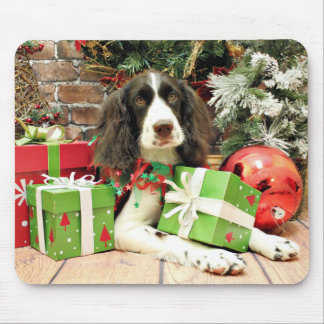 Christmas - English Springer Spaniel - Kinzie Mouse Pads