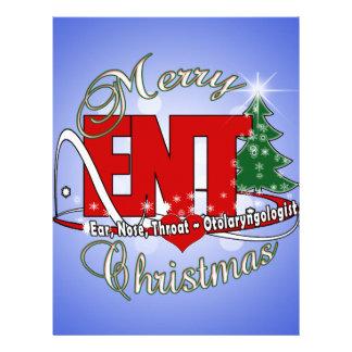 CHRISTMAS ENT DOCTOR EAR, NOSE, THROAT LETTERHEAD