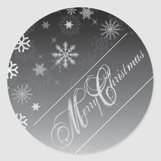 Christmas Envelope Seal Round Stickers