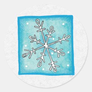 Christmas Envelope Sealer Sticker