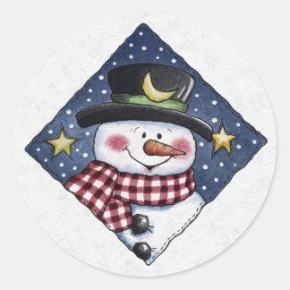 Christmas Envelope Sealer Stickers