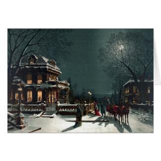 Christmas Eve 1880 Card