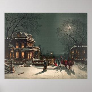 Christmas Eve 1880 Poster