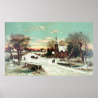 Christmas Eve 1898 Print