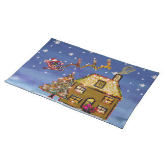 Christmas Eve American Mojo Placemats