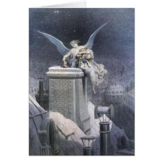 Christmas Eve Angel Christmas card