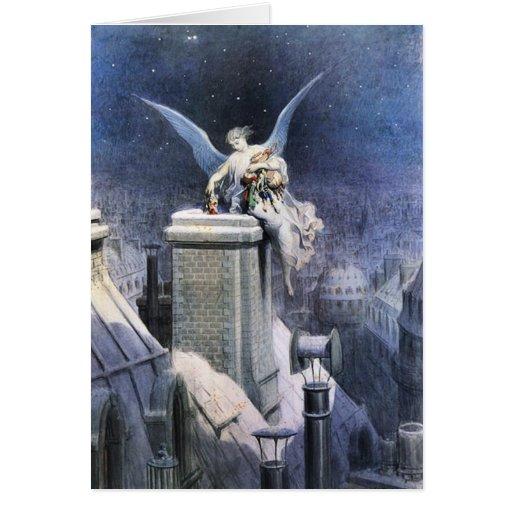 """""""Christmas Eve Angel""""  Christmas Cards"""