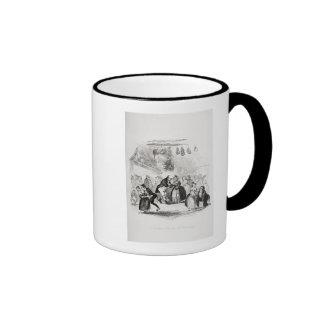 Christmas Eve at Mr. Wardle's Coffee Mug