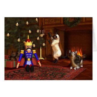 Christmas Eve by the Fireside Card