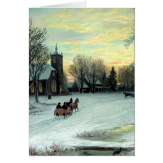 Christmas Eve by W. C. Bauer from Card