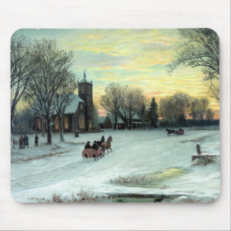 Christmas Eve by W. C. Bauer from Mouse Pad